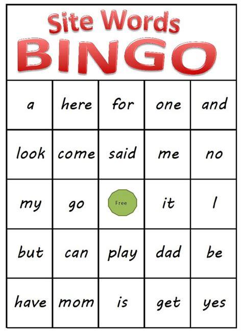 printable sight word games kindergarten sight word worksheet new 795 sight word bingo