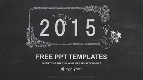 themes powerpoint free download 2015 happy new year 2015 in blackboard ppt templates