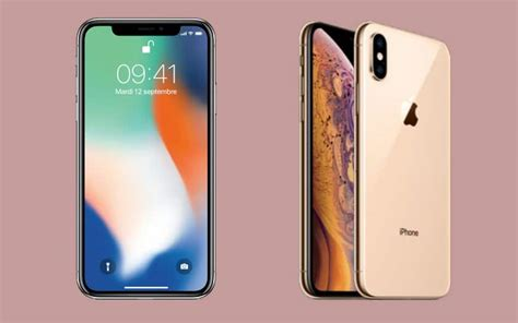 iphone xs vs iphone x faut il changer phonandroid