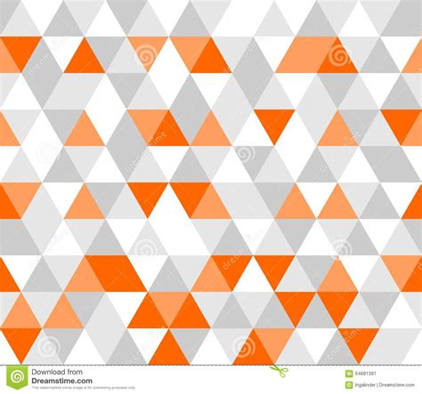 Hd 14 Grey Orange tile vector grey white and orange pattern stock vector