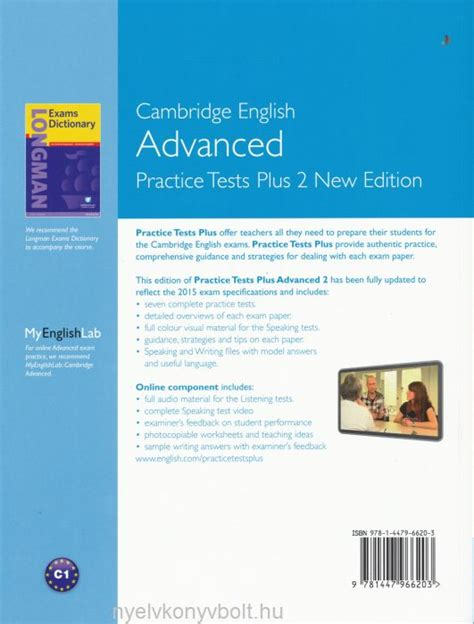 advanced practice tests plus 2 2015 exam slideshare cambridge english advanced practice test plus 2 with key