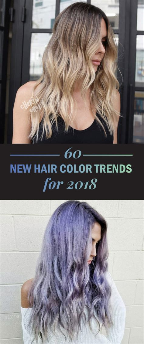 hair colour and styles for 60s 60 new hair color trends for 2018 style skinner