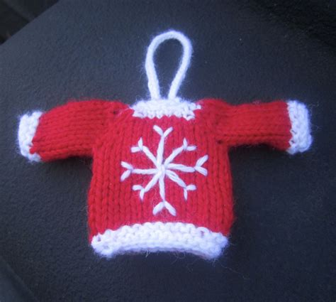tiny sweater knitting pattern tiny top sweater ornaments knitting