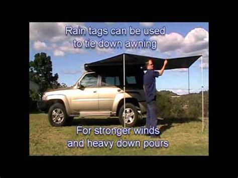 supa wing awning rapid wing awning by supa peg