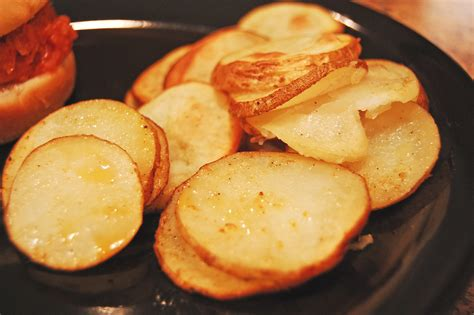 oven fried potatoes eat at home