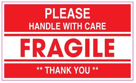 shipping label fragile handle with care 5 best images of free printable shipping label fragile