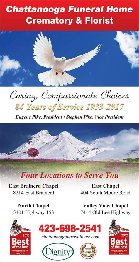 christians in business chattanooga funeral home