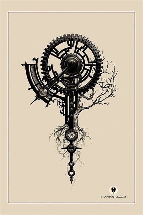 best 25 gear tattoo ideas on pinterest clockwork tattoo