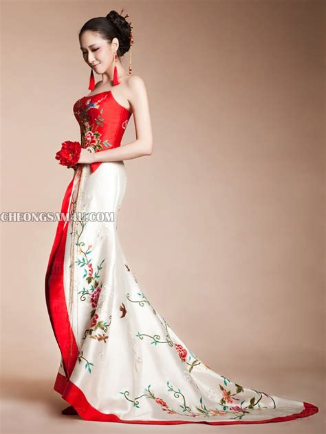 Wedding Qipao by Cheongsam Wedding Dress Gown And Dress Gallery