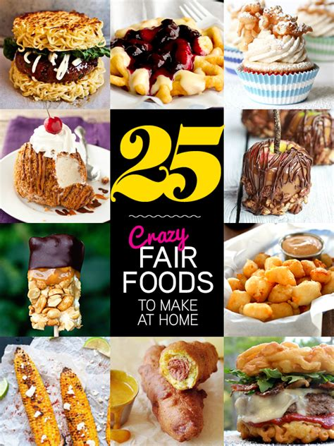 Food To Make At Home by Fair For All 25 Fair Foods You Can Make At Home