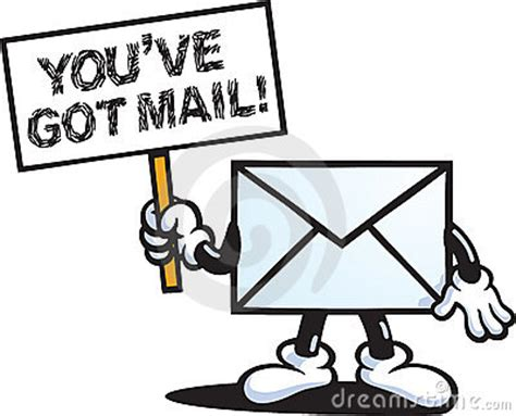 you ve you ve got mail stock photos image 18916953