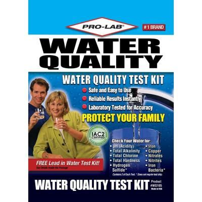 pro lab water quality test kit wq105 the home depot