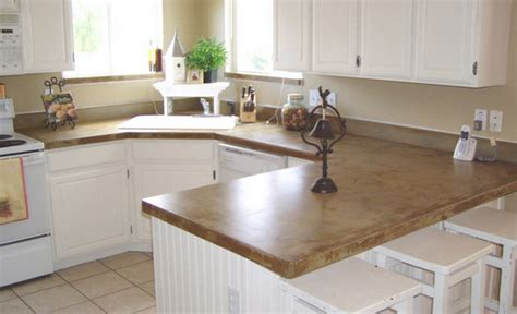 Concrete Kitchen Countertops Kitchen Ideas Concrete Kitchen Countertops