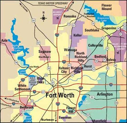 map of fort worth texas fort worth texas travel pal international