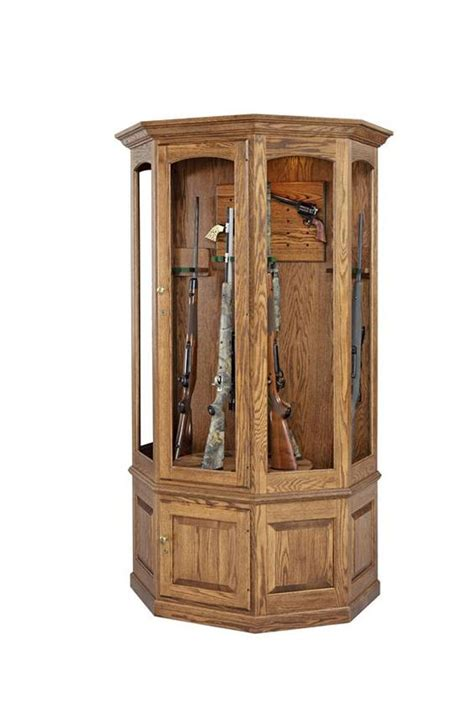 gun cabinets display and projects on