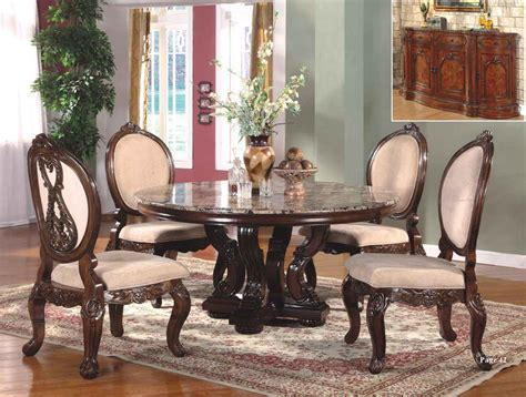 Marble Dining Room Table Set Abbyville 60 Quot Marble Cherry Dining Table Set Marble Dining Tables Marbles And Cherries