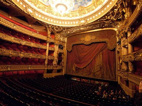 Baroque Ceiling by Palais Garnier Paris Travel To Eat