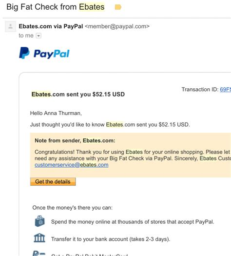 ebates review why it s worth it my payment proof - Ebates Pay With Gift Card