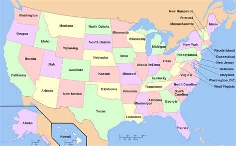 US States   Maps4Kids