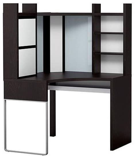 Corner Desk Hutch Ikea Micke Corner Workstation Scandinavian Desks And Hutches By Ikea