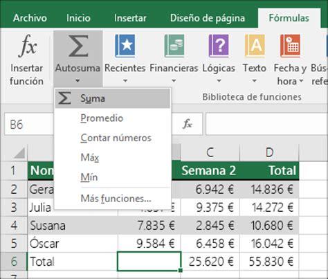 esta funcionalidad de excel permite agilizar la captura de registros usar excel como calculadora excel