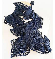 leaf pattern neckwear ravelry neckwear twist leaf pattern by jen giezen