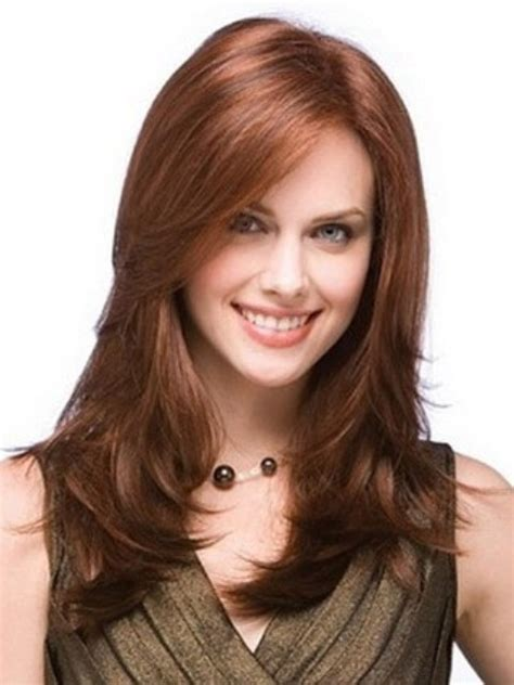is a hair layer shorter in front and longer towards back 15 unbelievably cute layered hairstyles for round faces