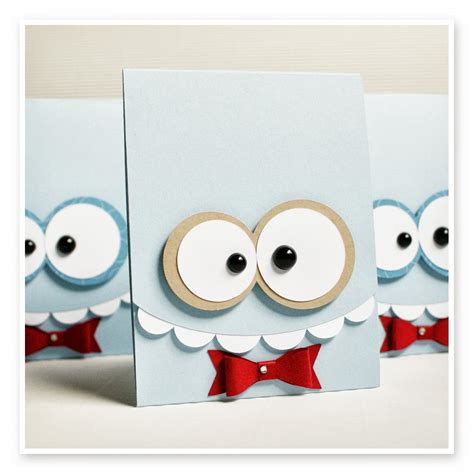 Monster Gift Card - 1000 images about homemade cards on pinterest masculine cards origami dress and