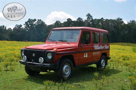 mercedes g wagon red 1980 red barn door 230ge red 4x4 hardtop g class g wagen
