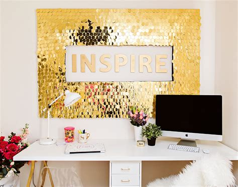 Home Depot Christmas Decoration by Diy Sequins Wall Art