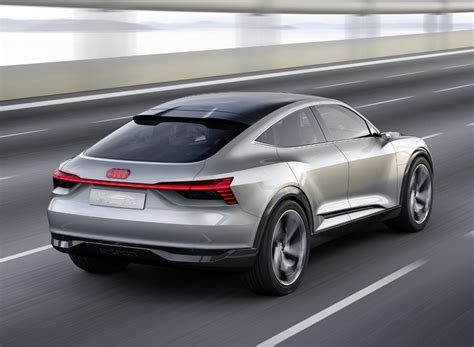 audi e sportback electric concept car unveiled at