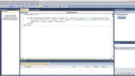 tutorial web application vb net vb net tutorial 2 messagebox show exle youtube