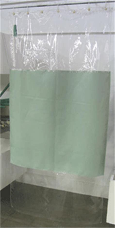 shower curtain with clear panel michigan state industries shirts pants jumpsuits