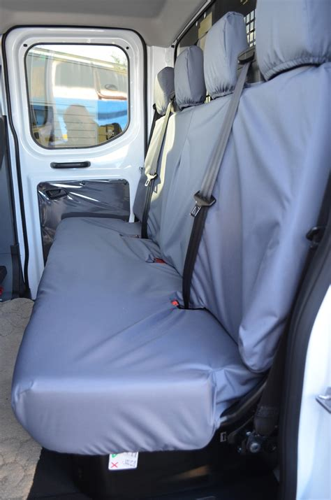 waterproof bench seat cover ford transit 2014 chassis cab tailored waterproof seat covers turtle covers ltd