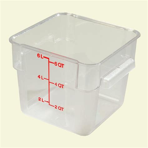 food storage container premium 5 gal food storage container 100 pack p9gl00fg the home depot