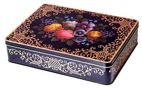 decorative tins nut roasting trail mixes gift tins metal boxes and