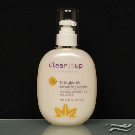 Plasma Clean Detox by Clear It Up 10 Glycolix Cleanser Mayoral Dermatology