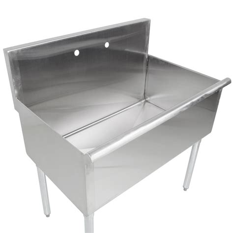 Stainless Steel Commercial Sinks by Regency 36 Quot 16 Stainless Steel One Compartment