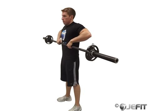 barbell drag curl exercise database jefit best