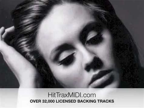 free download mp3 adele tired i can t make you love me by adele midi file backing track