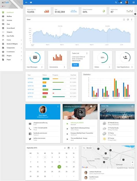 free bootstrap themes bower 40 best free bootstrap admin templates 2018 themesu
