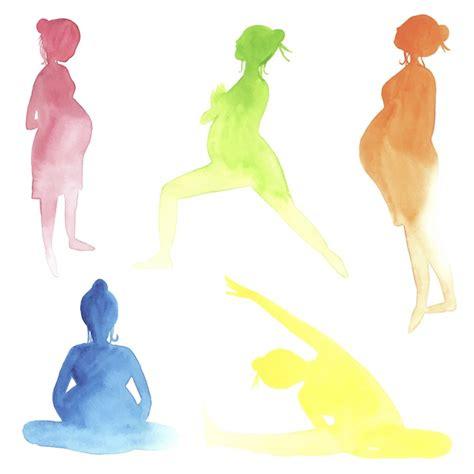 tutorial yoga hamil yoga di nujuh bulan studio bintaro moeslema
