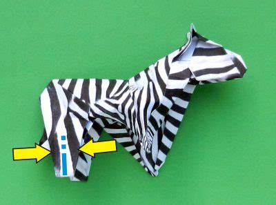 How To Make A Origami Zebra - origami zebra 28 images origami zebra designed by