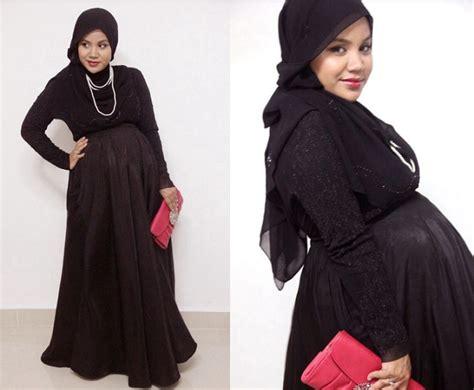 koleksi model baju hamil muslimah modis  kerja