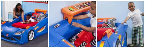 hot wheels car bed enter the step2 hot wheels toddler to twin race car bed giveaway our piece of earth