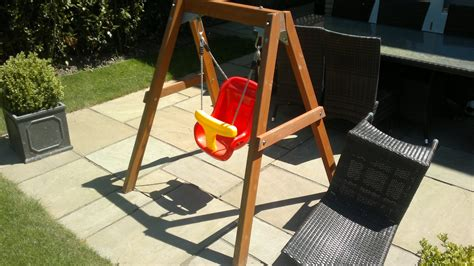 outdoor baby swing frame products 171 climbing frame installer