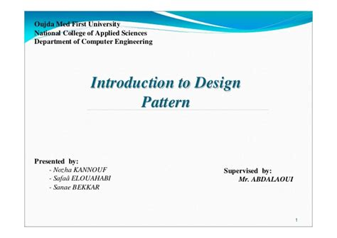 java pattern illegal repetition introduction to design pattern