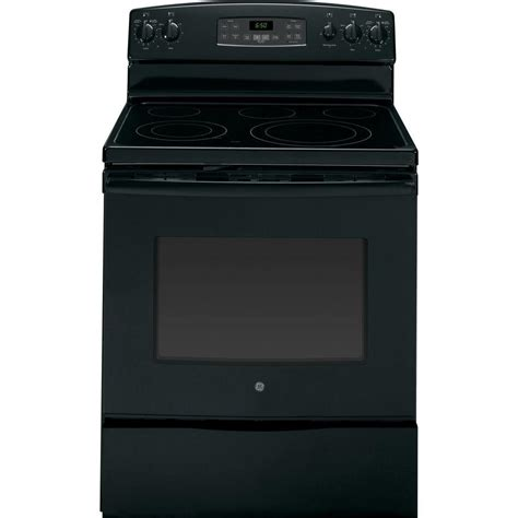 Oven Home Depot by 5 3 Cu Ft Electric Range With Self Cleaning Oven In