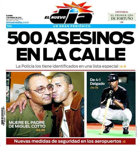 da del sur noticias newspaper el nuevo d 237 a puerto rico newspapers in puerto