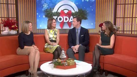 dylan dreyer black hosiery natalie morales dylan dreyer leggy and nice high heels